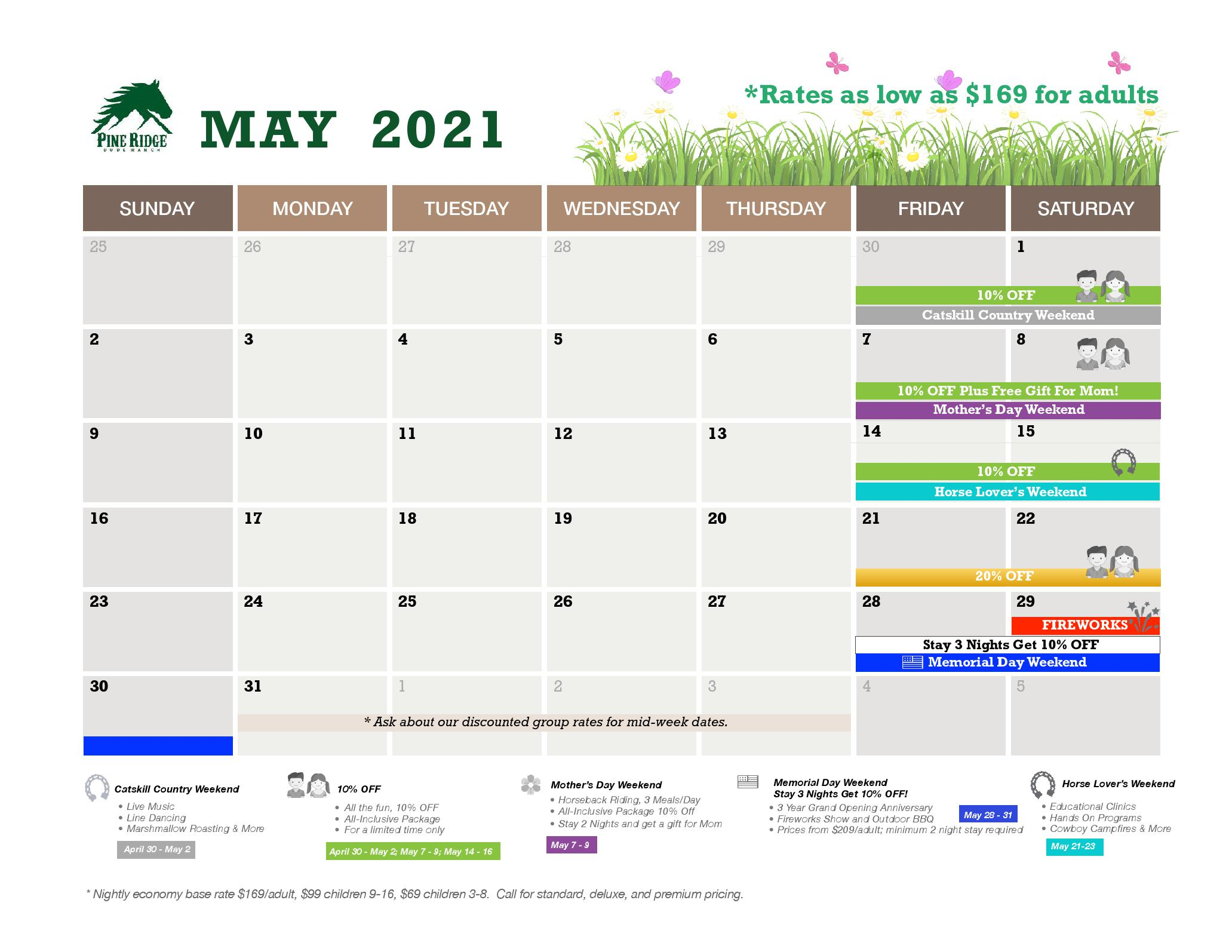 may calendar and promotions