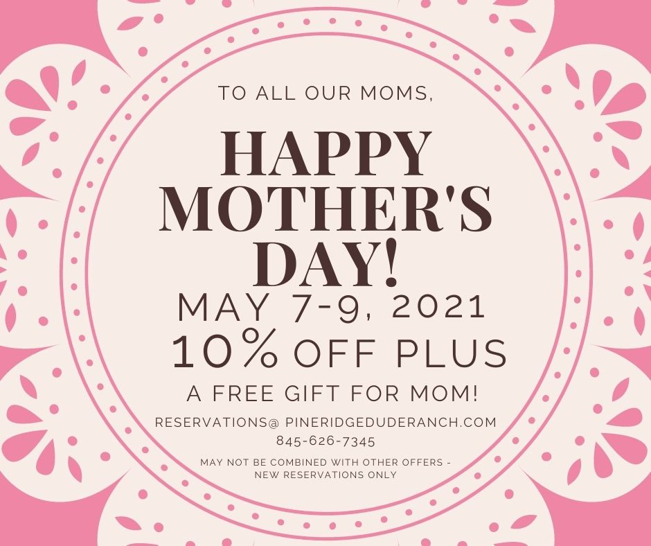 decorative pink and white patter wtih to all our moms, happy mothers day! may 7-9 2021, 10%off plus a free gift for mom.